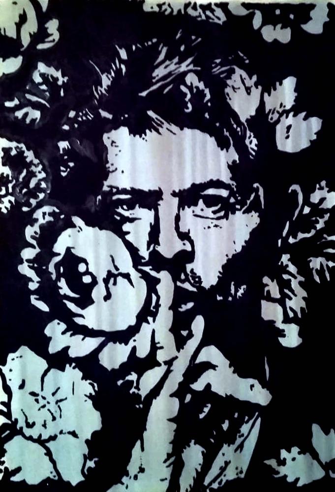 David Bowie by Bibourich